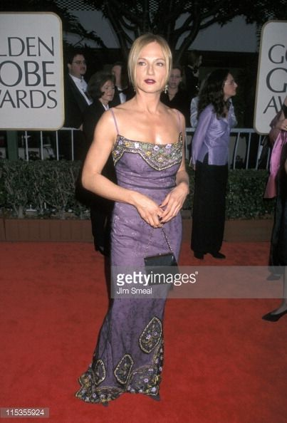Ellen Barkin at the Golden Globes 1998