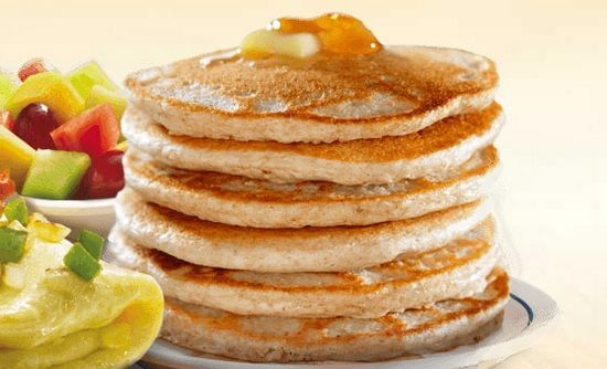 how to make pancakes without milk and sugar