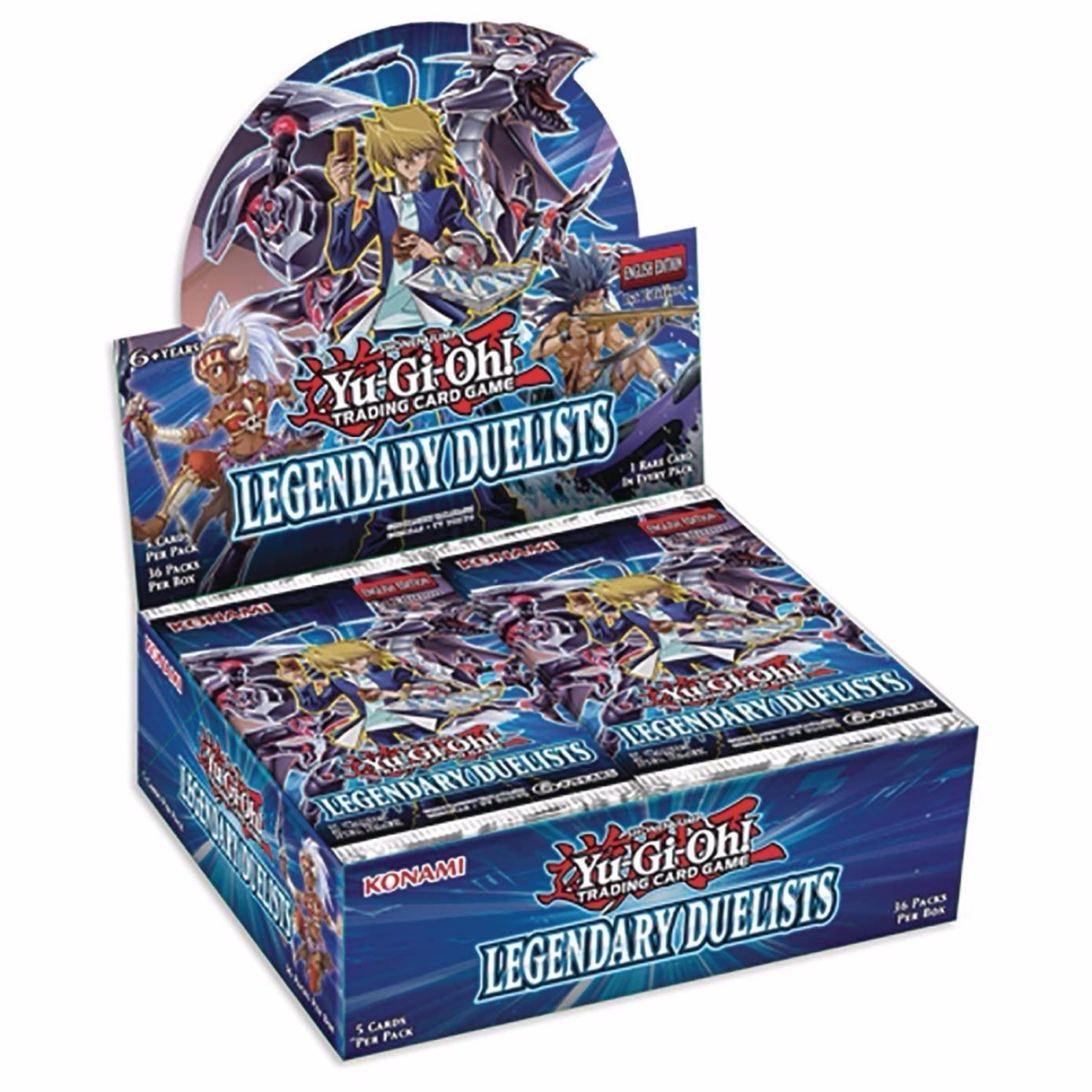 Yugioh LEGENDARY DUELISTS 1st Edition Sealed Booster Box