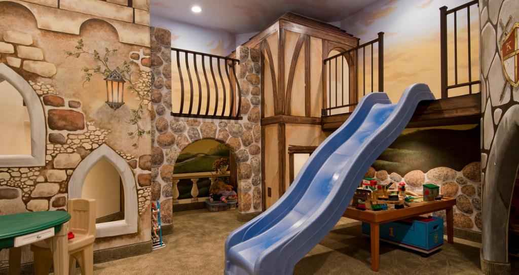 Lighting Basement Washroom Stairs: Exquisite 17,000 Square Foot Mansion In Orem, UT
