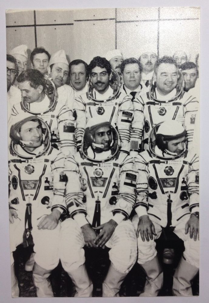Real Photo Baikonur 70s Cosmonaut Georgy Grechko and ...