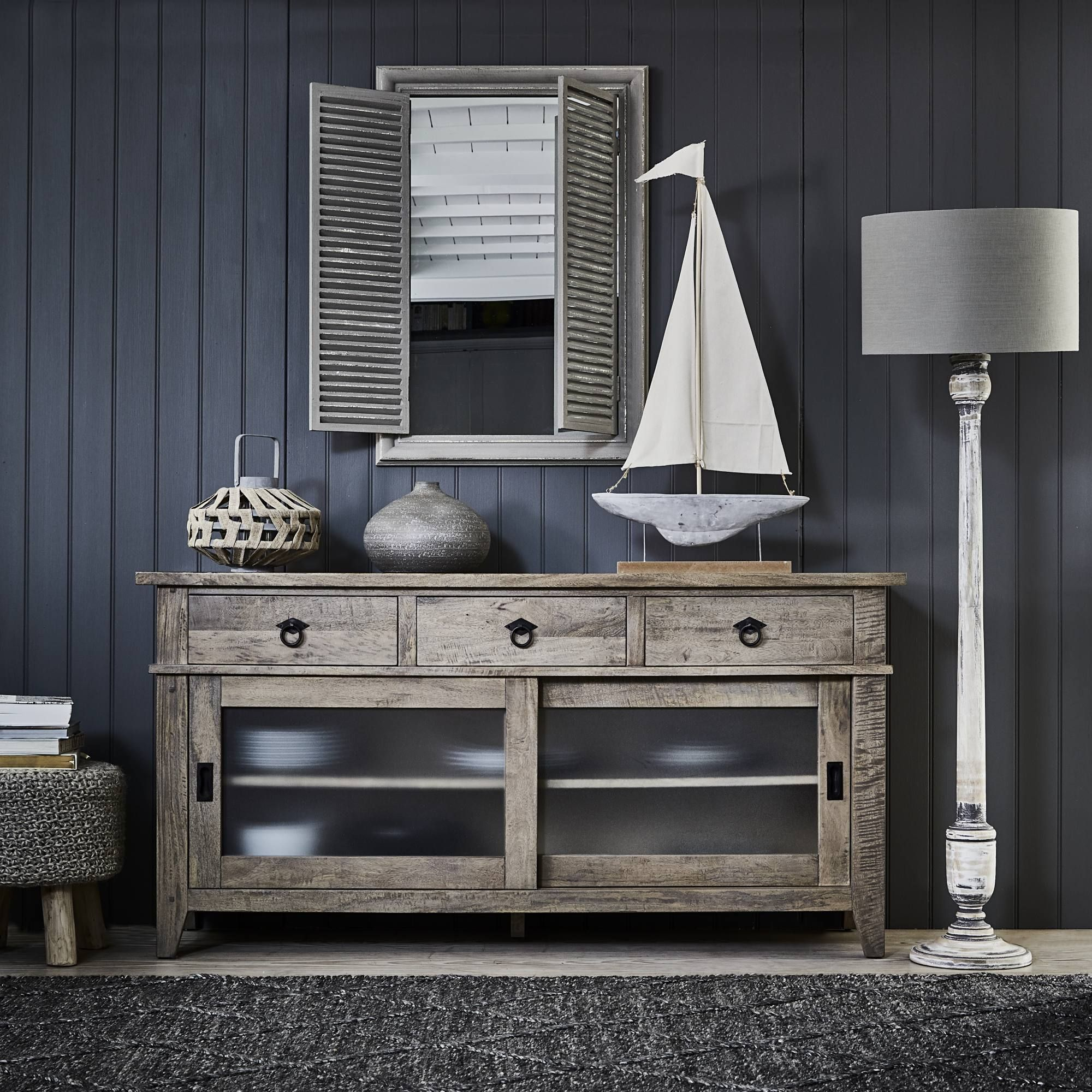 Brimming with rustic style the hancock large sideboard is perfect