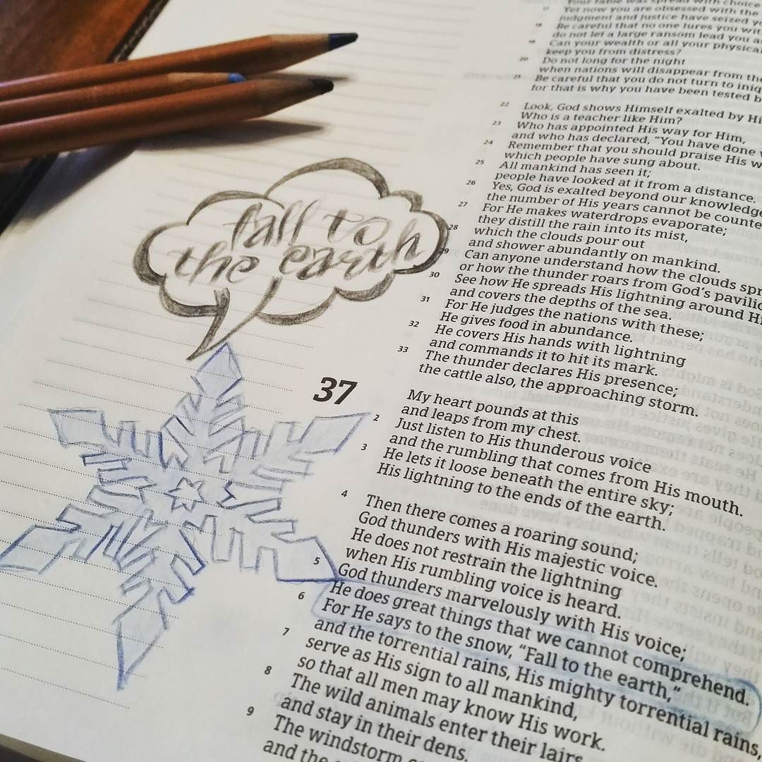 The Lord has spoken. Stay safe and warm out there. Pathway will reopen at 9am Monday morning January 25. Enjoy your #snowday! #winterstormjonas2016 #biblejournaling #biblejournalingcommunity #scriptureart #GodsWord #HCSB by trustpathway