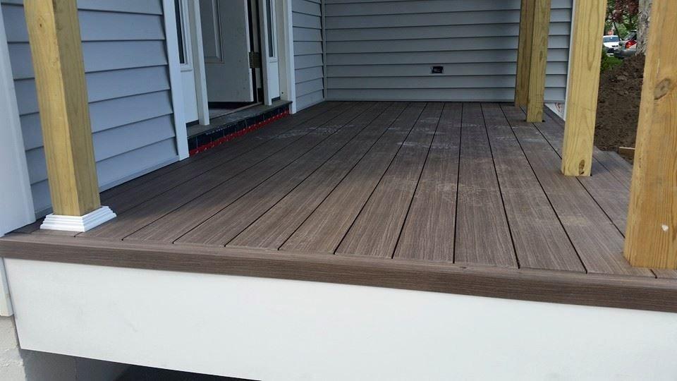 Idecking Composite Or Hardwood Decking Boards With Images Hardwood Decking Deck Deck Boards