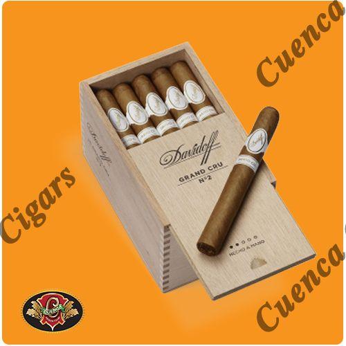 Davidoff Grand Cru No. 2 Cigars - Box of 25 - Price: $380.90