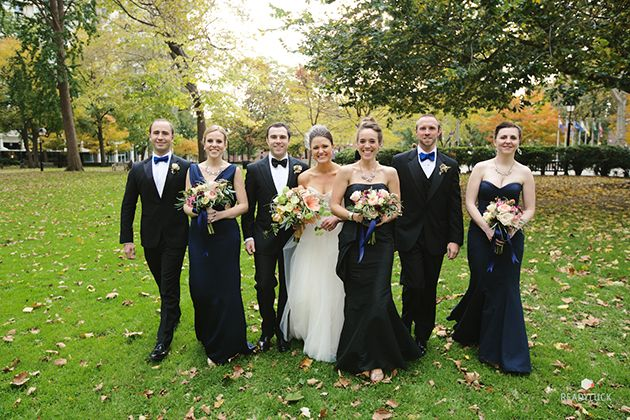 A Playful Philadelphia Wedding With Glam Gold Details Male Bridesmaidwedding