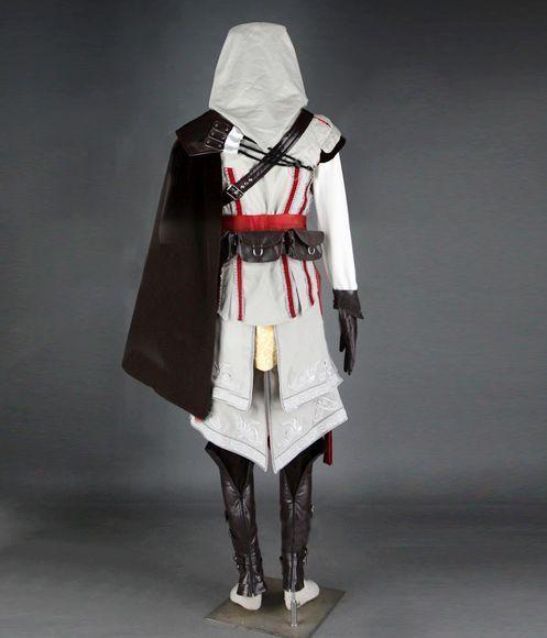 Assassin s Creed 2 II Ezio Cosplay Costume Ultimate Version ... 6208082b056a