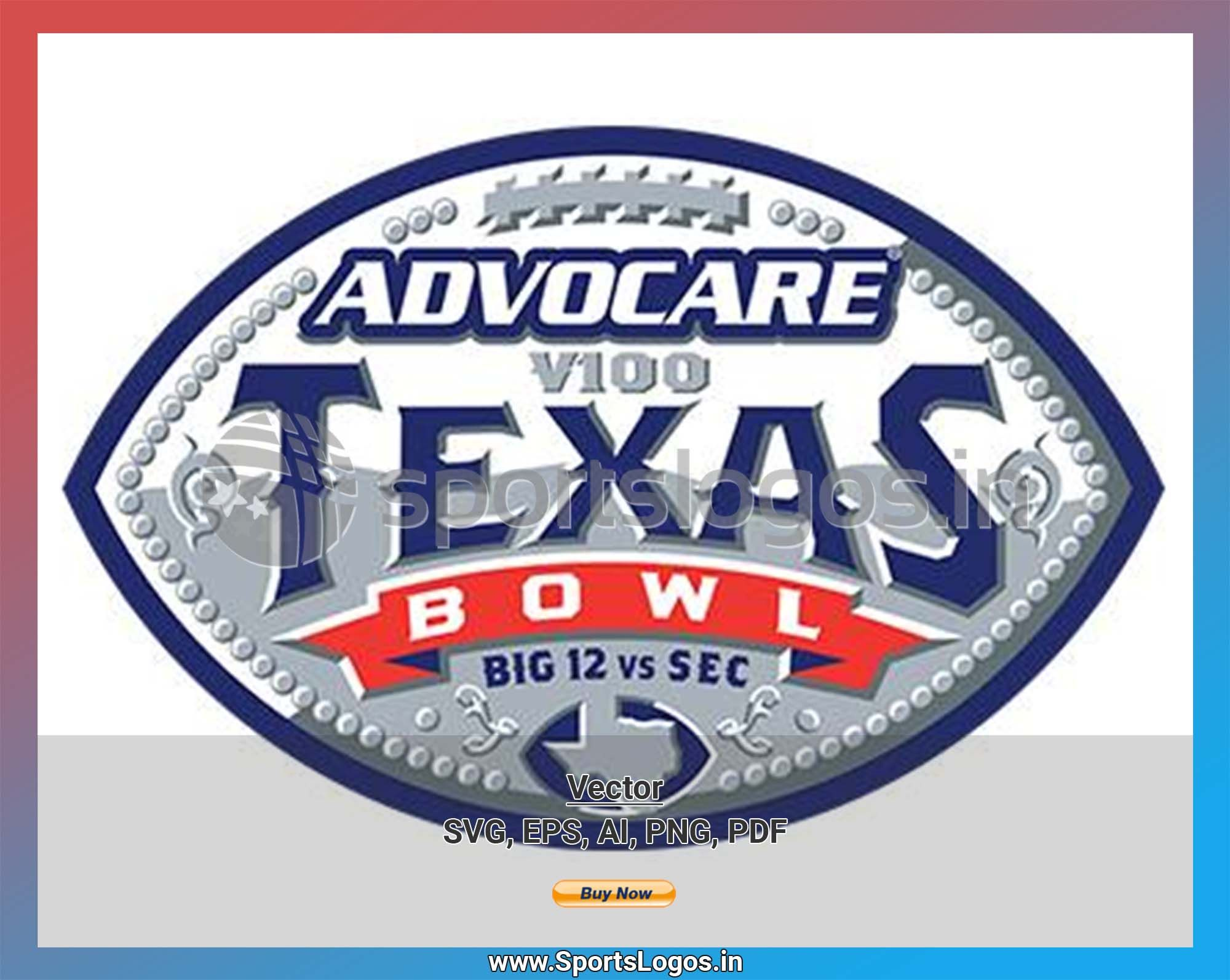 Texas Bowl College Sports Vector Svg Logo In 5 Formats Spln004384 Sports Logos Embroidery Vector For Nfl Nba Nhl Mlb Milb And More Texas Bowl Embroidery Logo Sports Logo