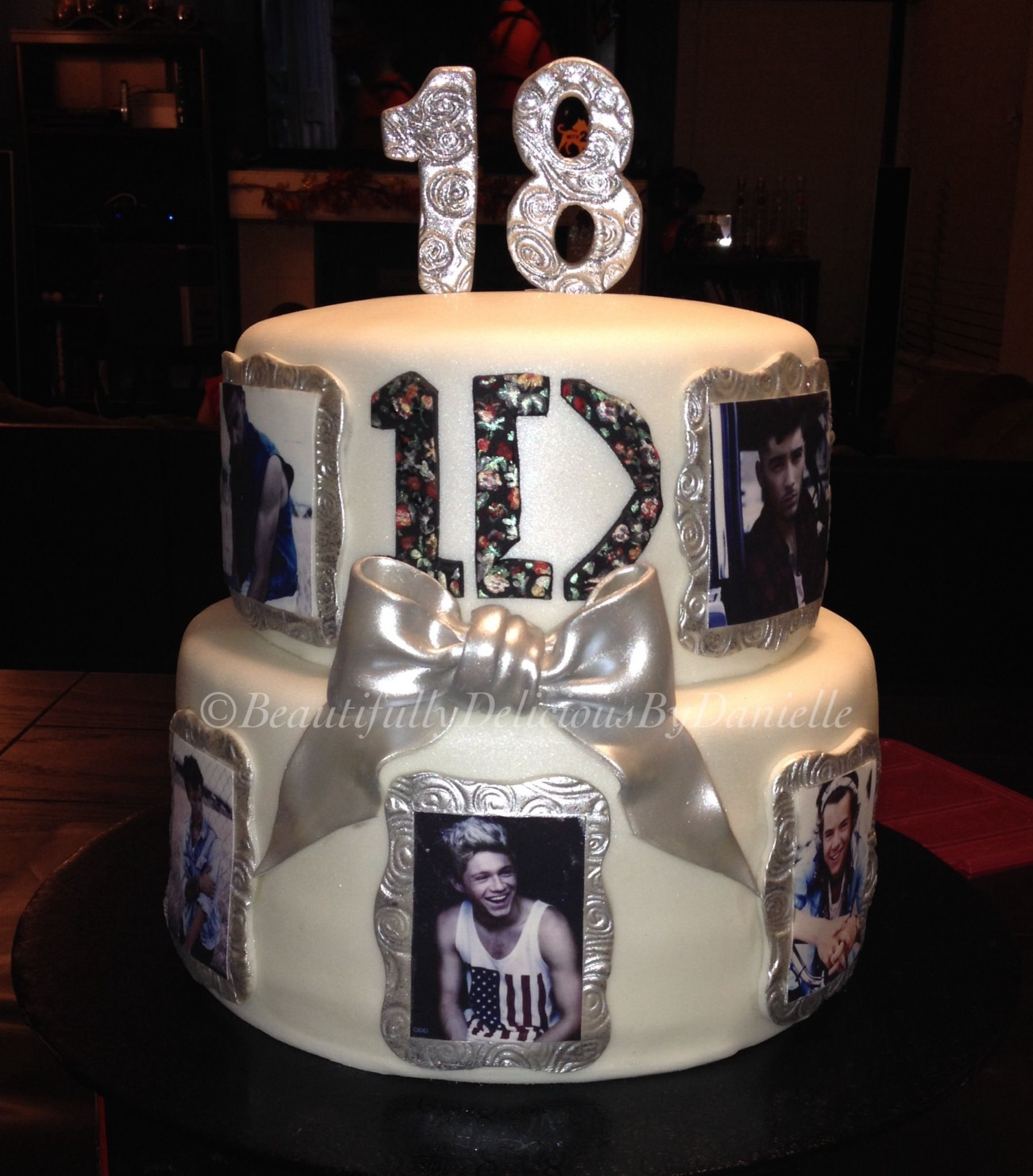 One Direction Cake by Beautifully Delicious By Danielle Find me on