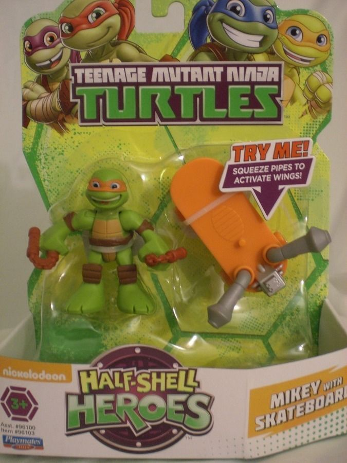 Playmates Half Shell Heroes Teenage Mutant Ninja Turtles Mikey