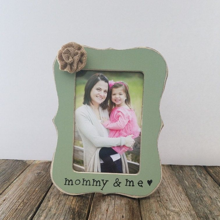 Mommy and me picture frame   baby gifts   Pinterest   Wooden frames ...