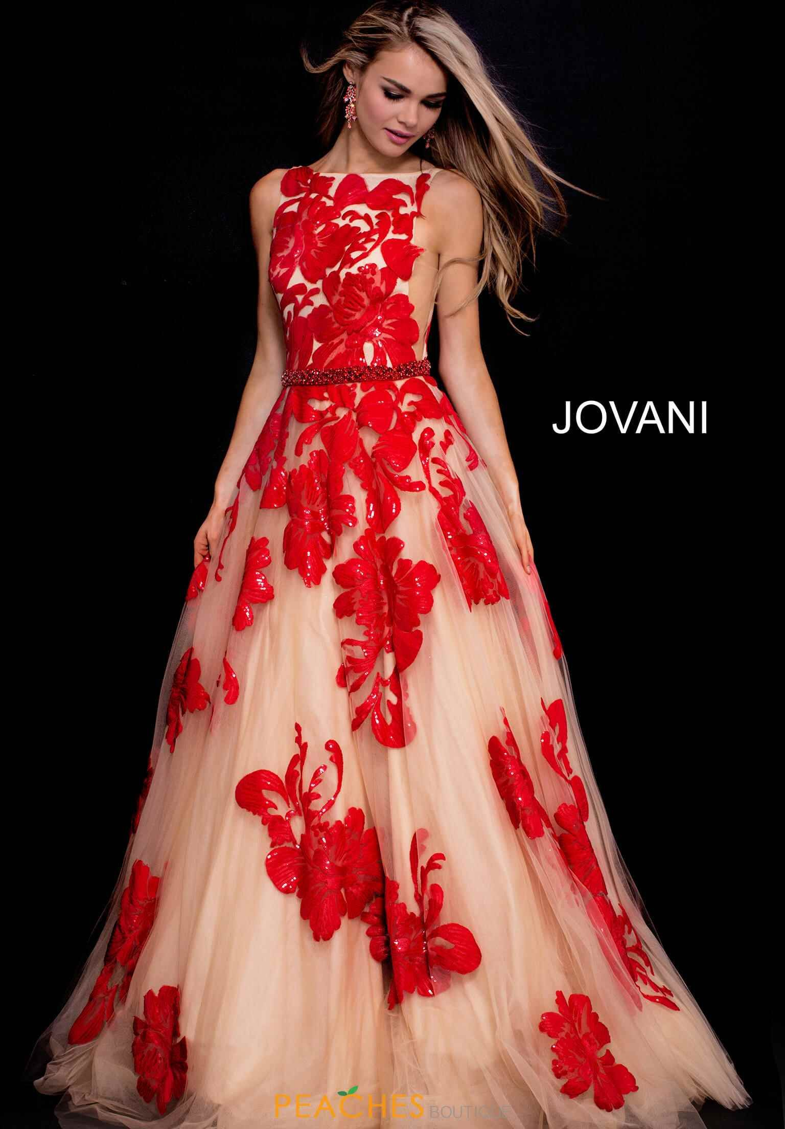 Jovani Prom Dresses Peaches Boutique Prom Dresses Jovani Jovani Dresses Red Ball Gowns [ 2208 x 1536 Pixel ]