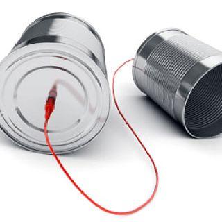 Hach, das gute, alte Dosen- bzw. Büchsentelefon. Auf jedem  Kindergeburtstags der Renner und ein schönes Mitgebsel. | Basteln mit  blechdosen, Alte dosen, Blechdosen