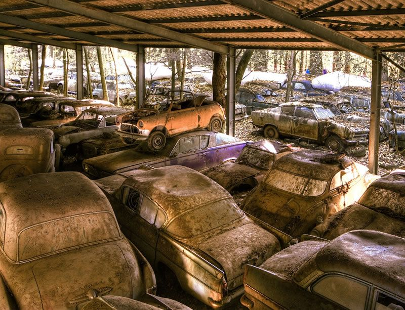 Patina Weburbanist Wheels Gone By in 2019 Abandoned