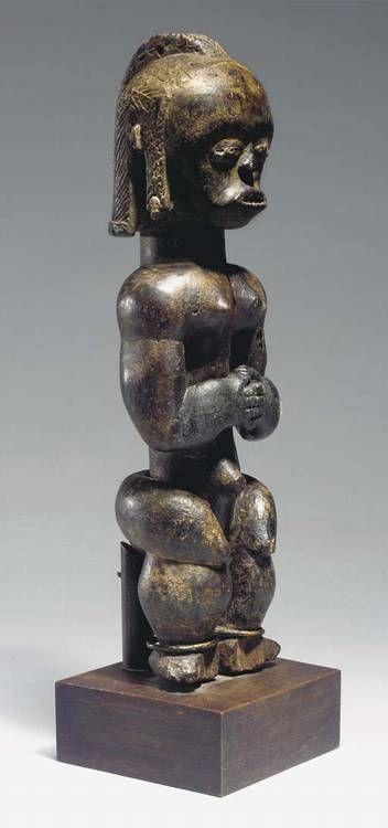 Guinea Ecuatorial Fang Okak Byeri figura - RAND arte africano