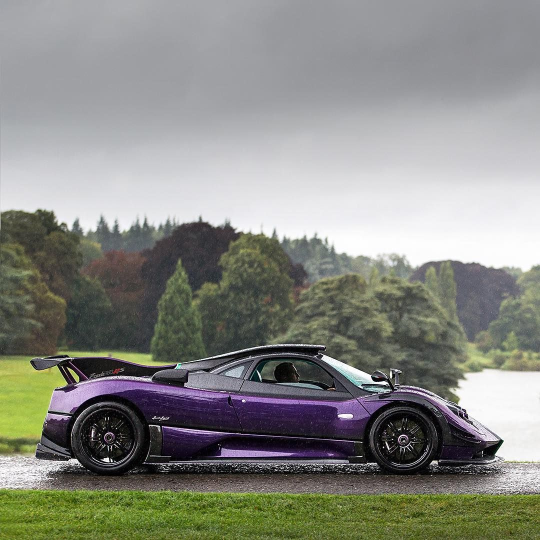 Pagani Zonda: Things That Fly/float /goes Fast
