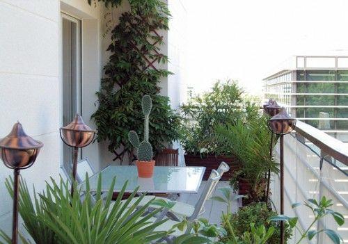 19 Originelle Ideen Für Einen Gemütlichen Balkon - Modern Balkon ... Ideen Balkon Und Dachterrasse Gestalten