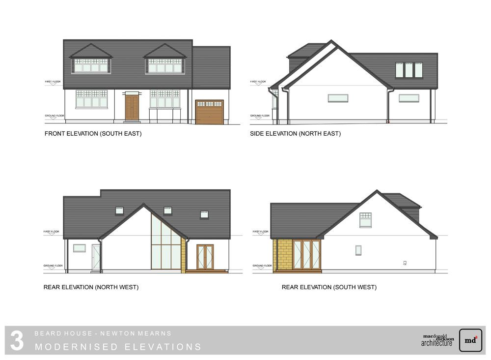 Architect Providing Architectural Services For House Extension Newton Mearns