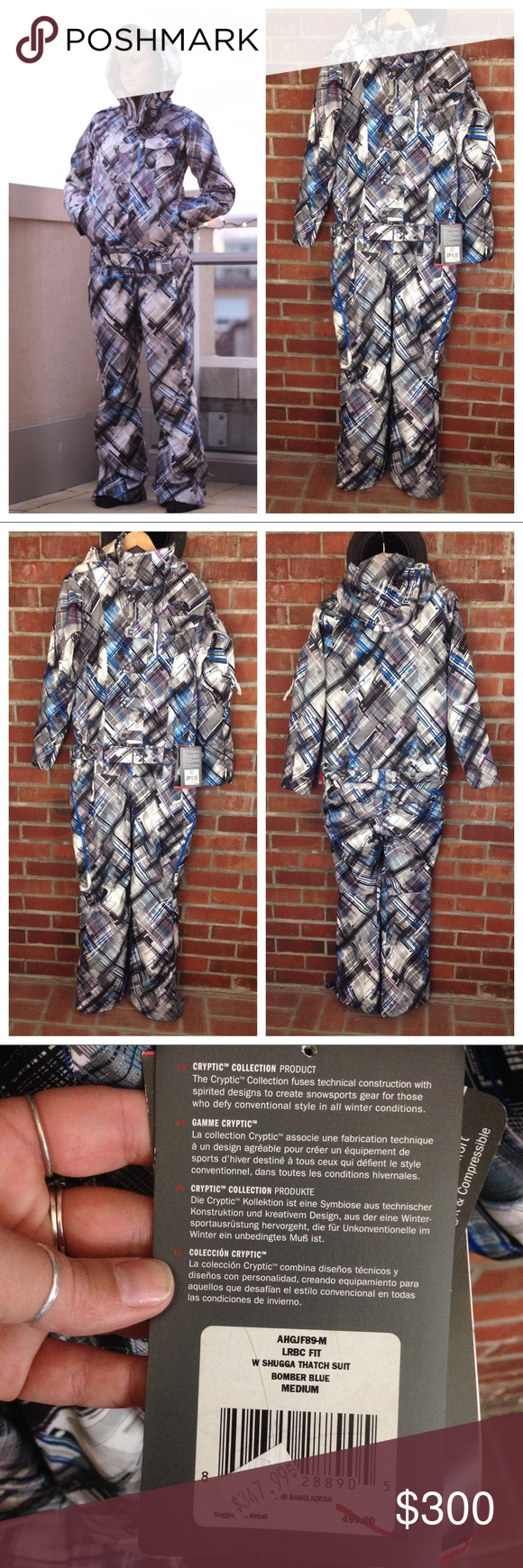 d39b9a9e3b34 TNF Shugga Cryptic Thatch Snow Ski Suit 1-Piece The Women s Shugga ...