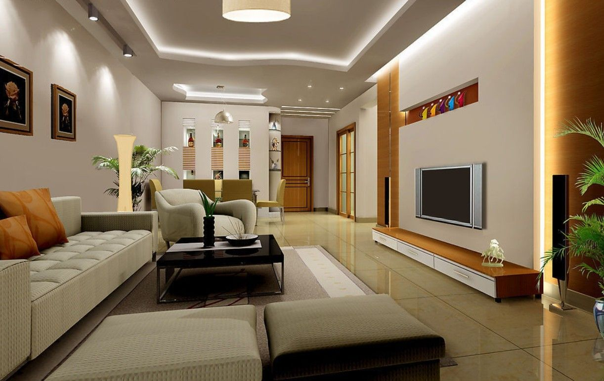 Interior design interior design 3d living room 3d for Interior design ideas living room with tv