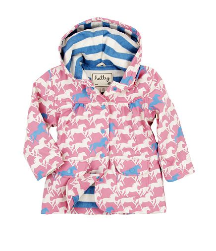 Hatley Boys Raincoat Size 4 and matching wellies