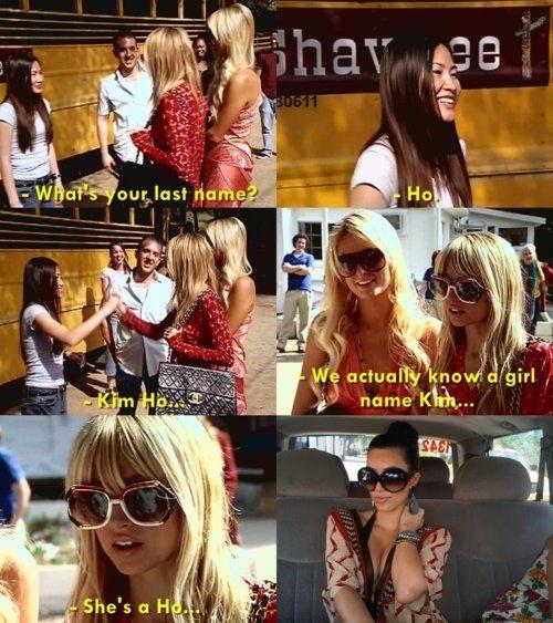 Nicole Richie And Paris Hilton In The Simple Life Lol Make A Girl Laugh Paris And Nicole Nicole Richie