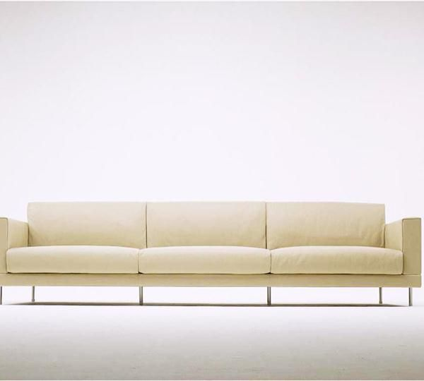 soft couches. DOUBLE Is A Three Seat #sofa (db03ld) Upholstered And Covered In Soft Leather Couches L
