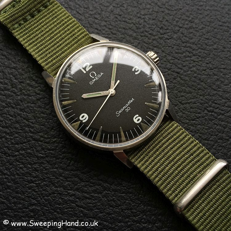 Rare PAF Military Issued Omega Seamaster 30