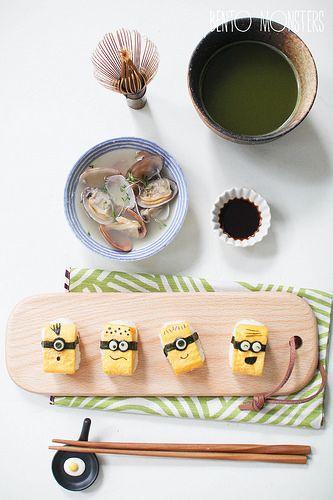Minion Tamago Sushi!