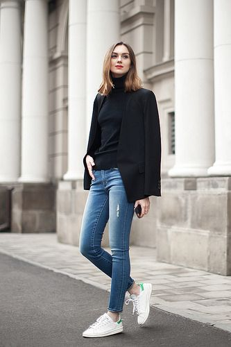 Preppy fall outfits, Skinny jeans