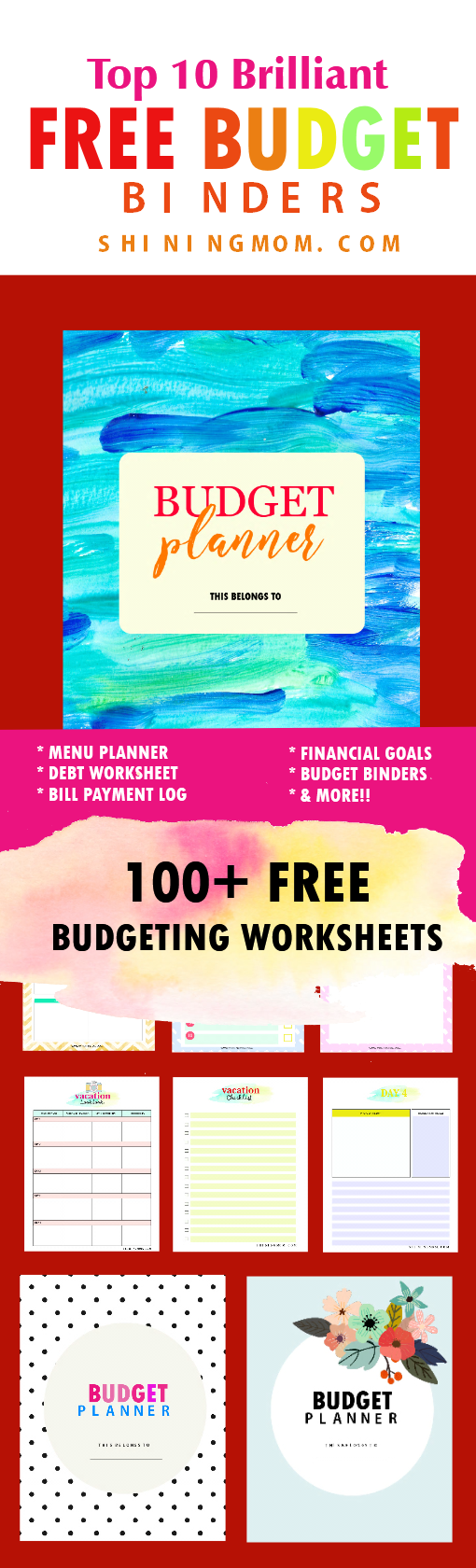 10 Best Free Budget Printables that You Should Be Using Now ...