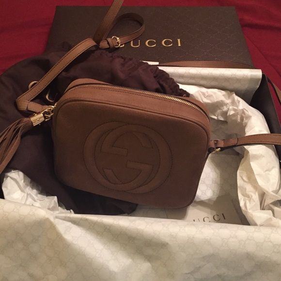 gucci used. Gucci Crossbody Bag Soho Disco Bag. I Used It Once. AUTHENTIC. My
