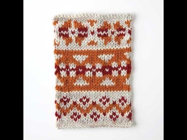 Making a Fair Isle Knitting Chart Online | Knitting charts, Fair ...