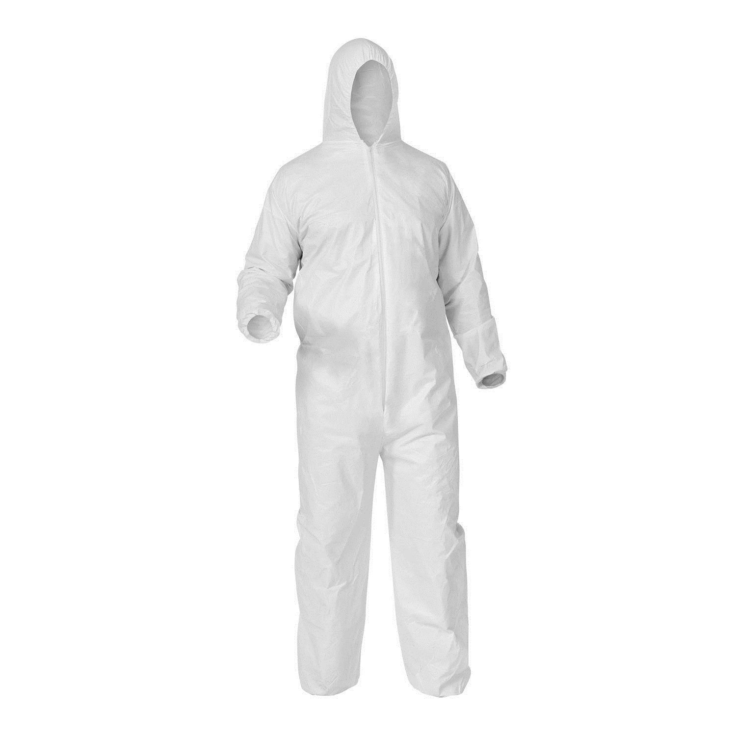details about shield safety microporous disposable white on men s insulated coveralls with hood id=24725