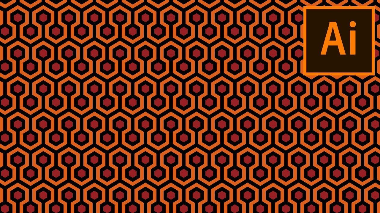 Create The Carpet Pattern From The Shining In Adobe Illustrator Youtube Patterned Carpet Hd Wallpaper Pattern The Shining