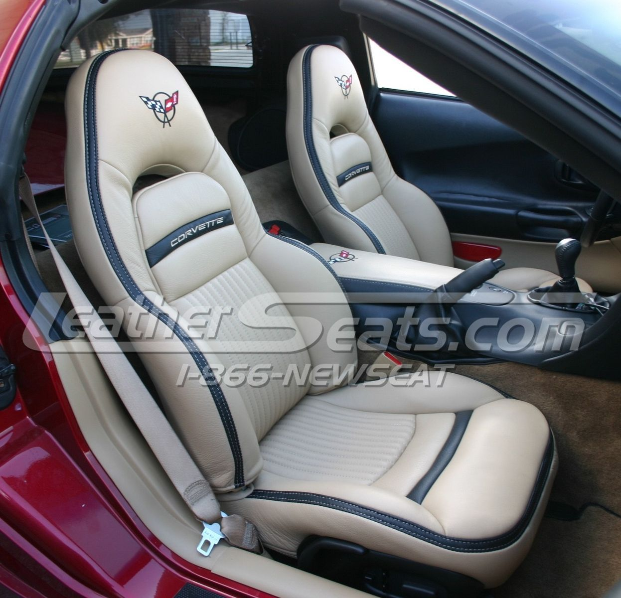 Custom Made Chevrolet C5 Corvette Italian Leather Interior