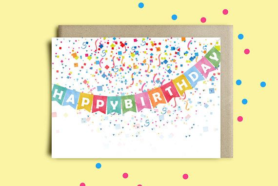 Printable Greeting Cardbirthday Cardsbirthday Card Printswife