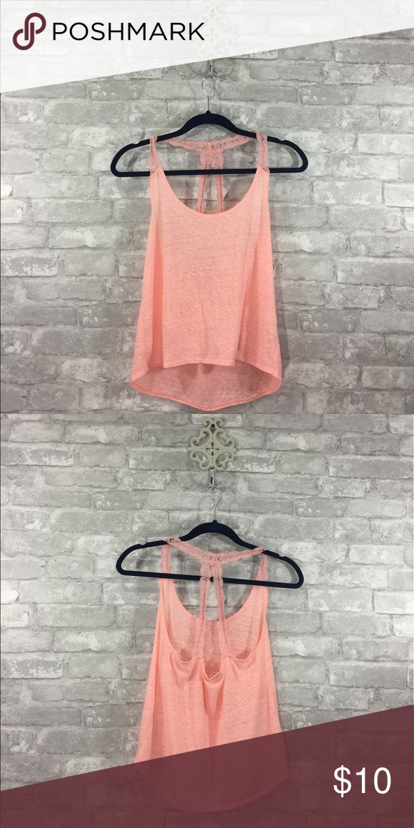 Coral Hollister tank top Taking any offers Hollister Tops Tank Tops