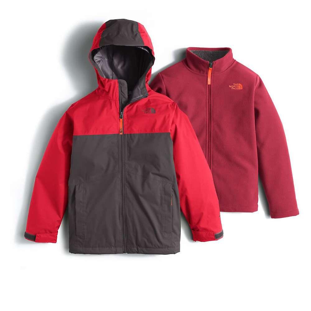 6afc5afd0905 The North Face Boy s Chimborazo Triclimate Jacket - Past Season - Medium -  Graphite Grey