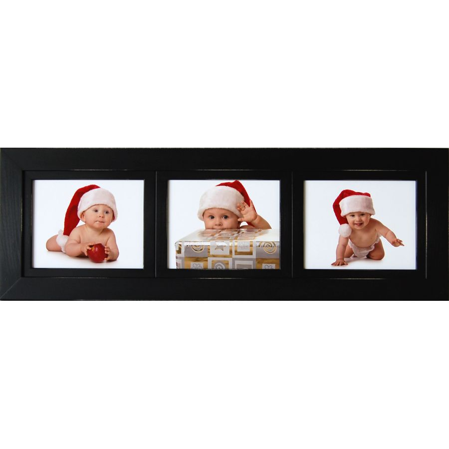 Collage Picture Frame Three 8x10 Landscape Openings Barn Wood Frames Collage Picture Frames Frame