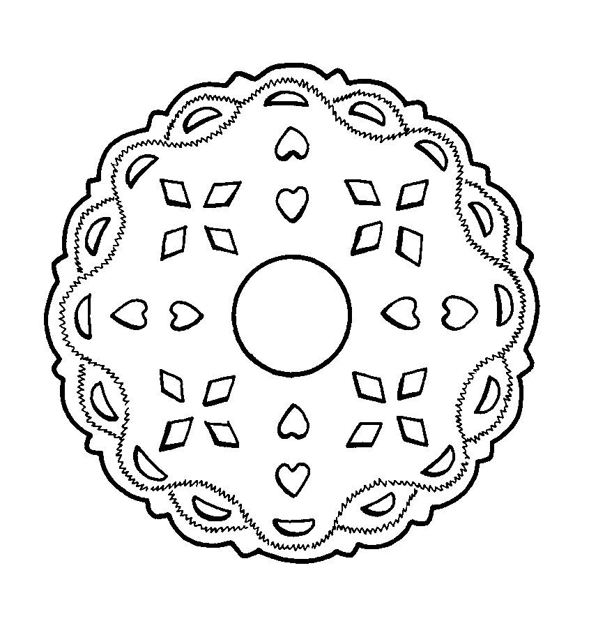 Dibujo De Los Indios Iroqueses Norteamrica Mandalas 1