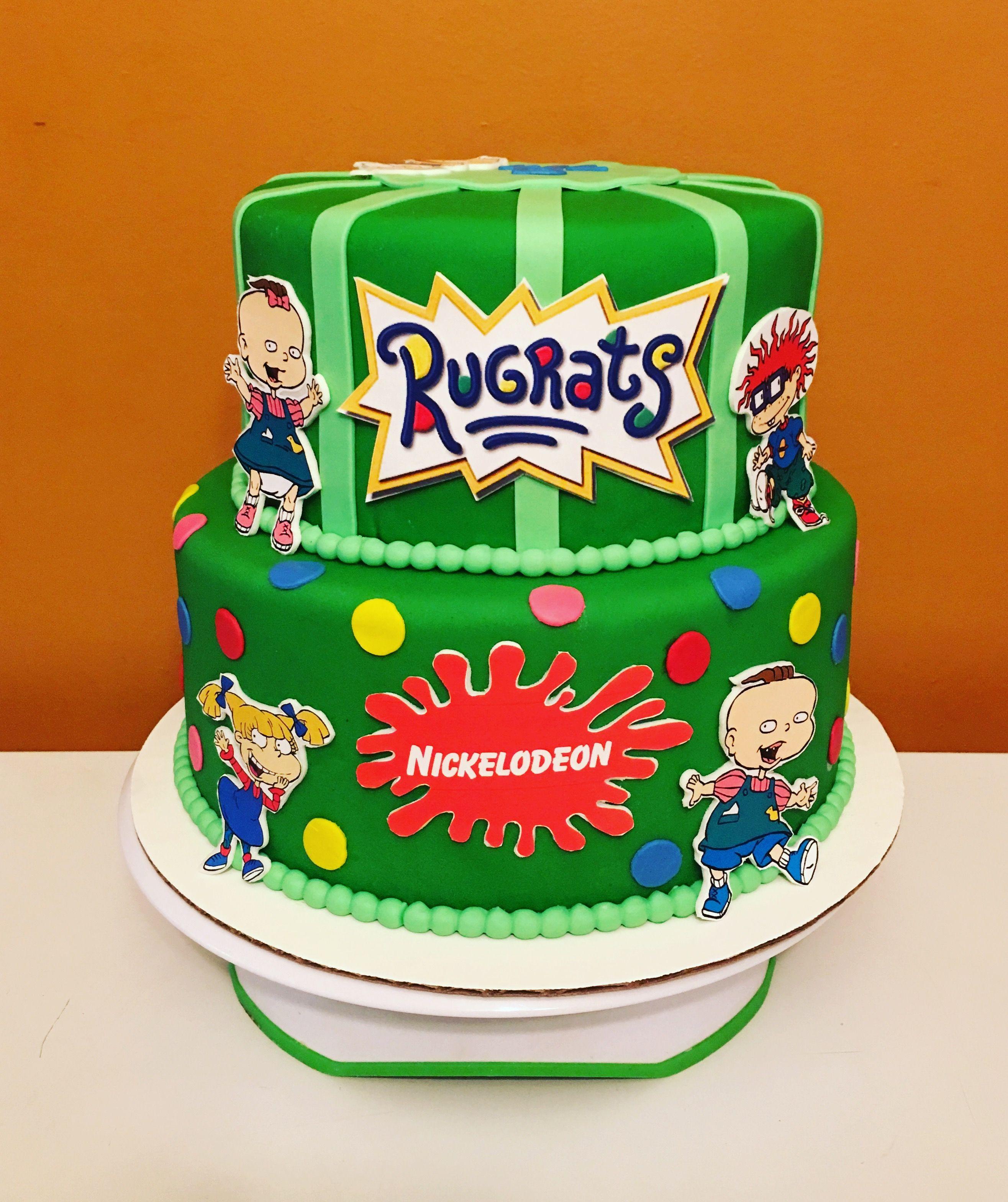 Pleasing Rugrats Cake Rugarts In 2019 Cake Rugrats Birthday Cake Funny Birthday Cards Online Necthendildamsfinfo