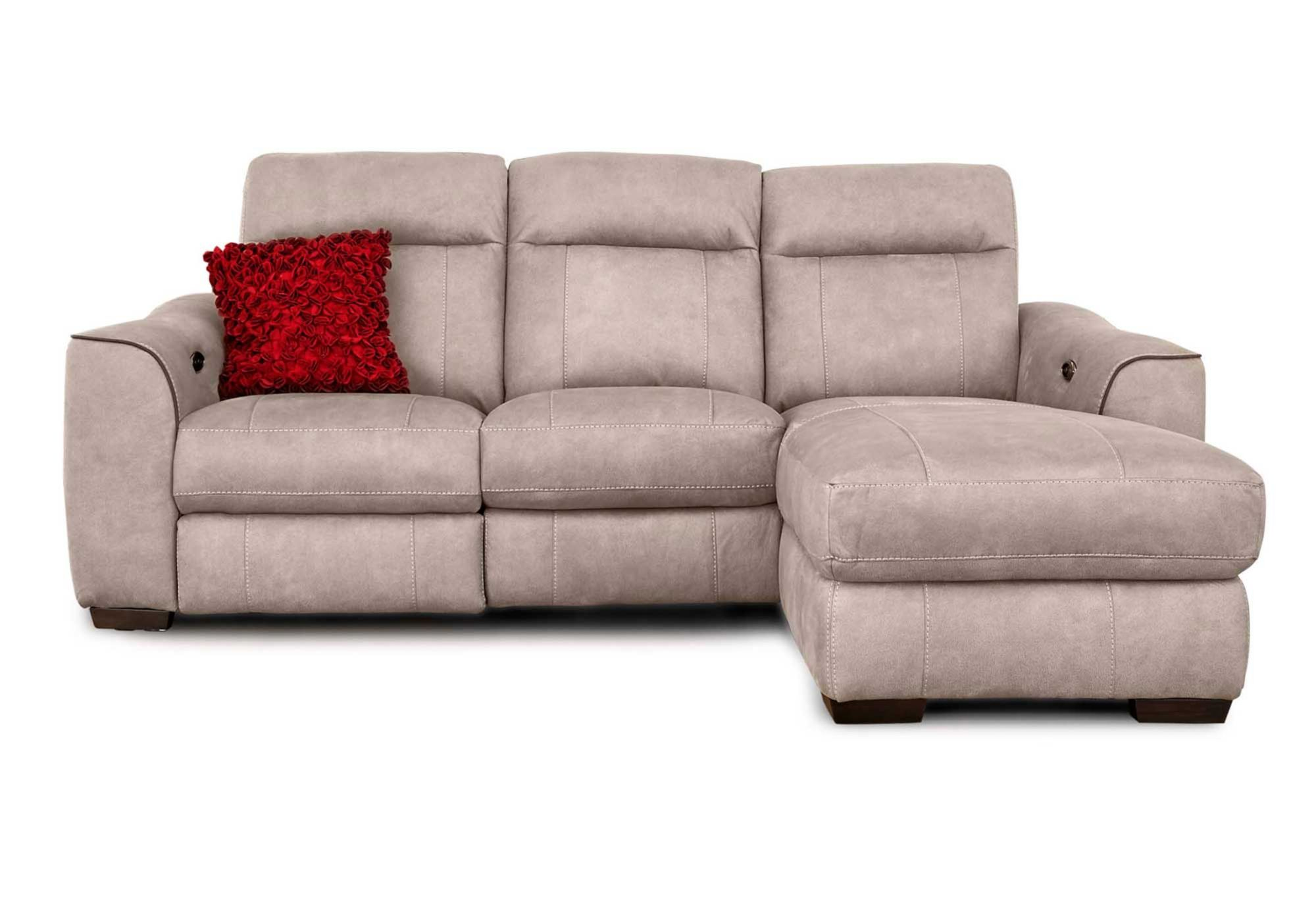 Modena 2 Seater Reclining Leather Sofa Furniture Bed Singapore Village Paloma | Brokeasshome.com