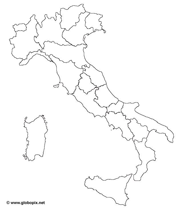 Cartina Muta Delle Regioni Ditalia.La Cartina Muta Dell Italia Mappa Dell Italia Immagini Di Scuola Ricordi Di Scuola