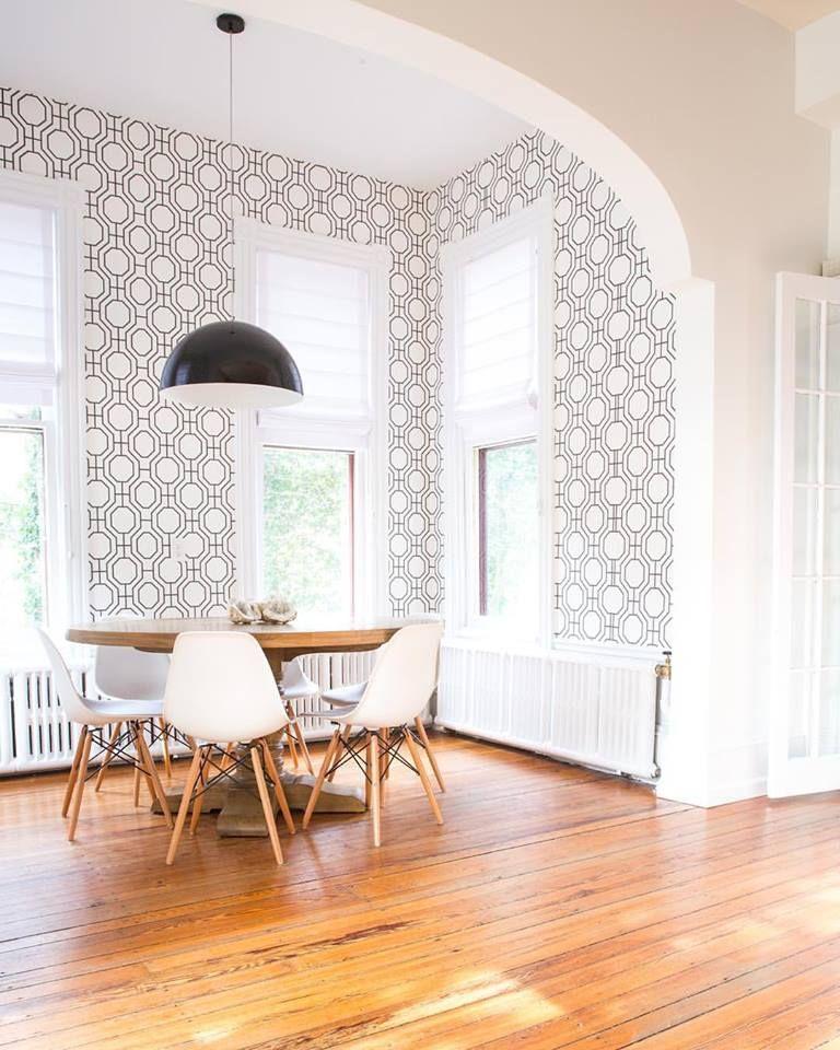 Kitchen nook design by interior decorators Widell