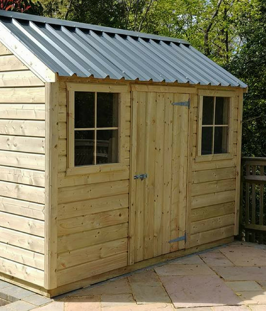 Garden sheds COTTAGE Style. MCD Garden Sheds Barnsley