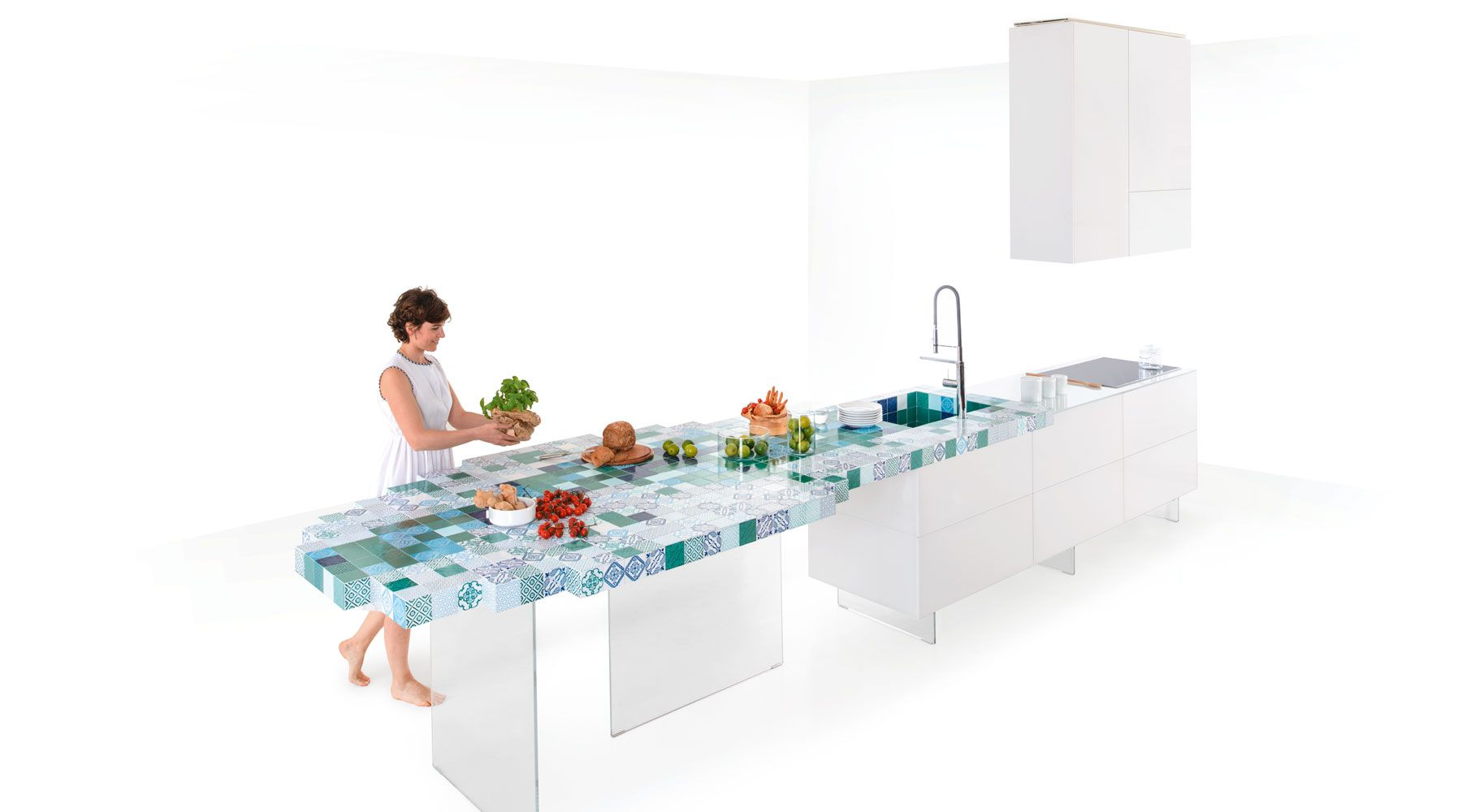 Cucina e madeterraneo work surface