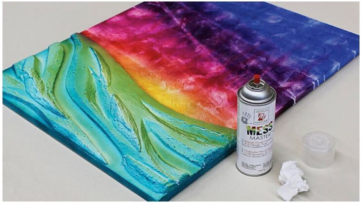 DIY Mixed Media Canvas Room Décor | Craftideas.com