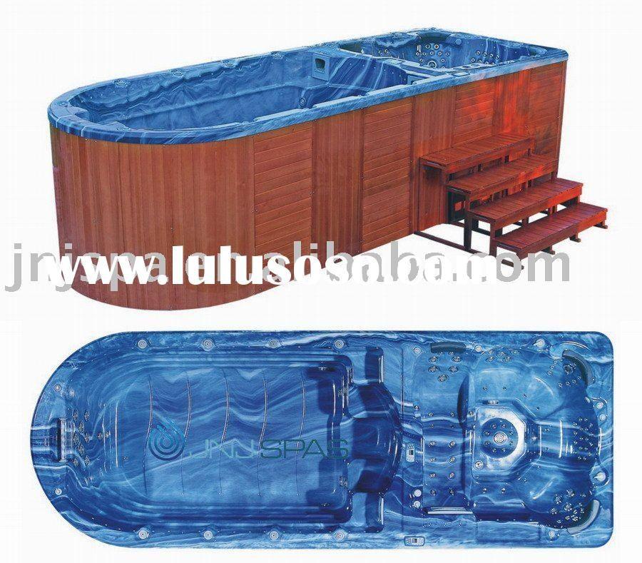 Swim spa images portable swimming pool swim spa spa for Portable pool