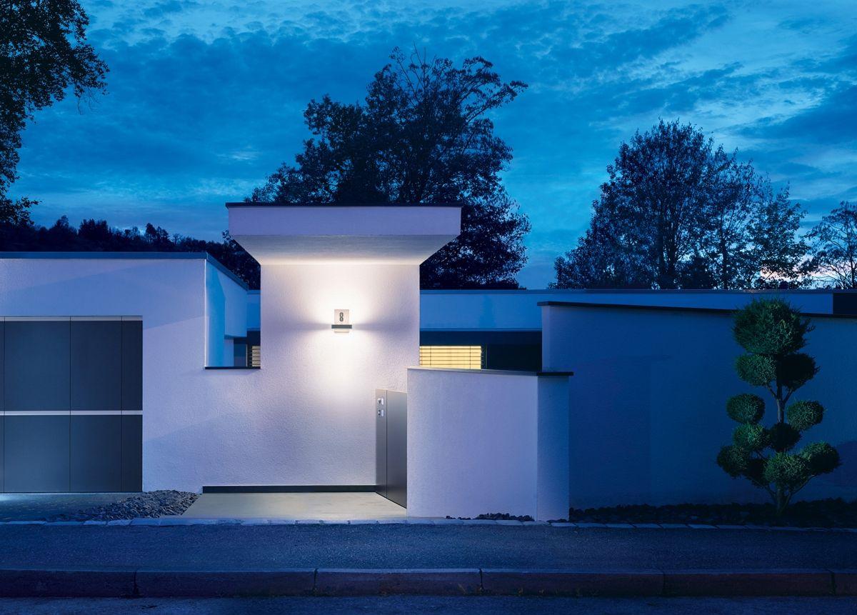 LED Hausnummer-Lampe: Einfach, schlicht und elegant die Hausnummer ...